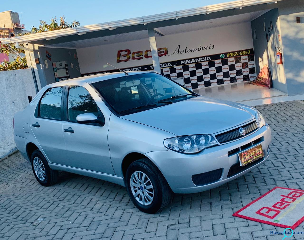 FIAT SIENA ATTRACTIVE 1.0 FIRE 8V 1.0 2007/2007